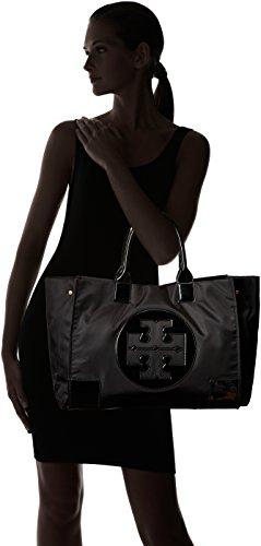 d97541d893b Tory Burch Womens Black Nylon Ella Tote Bag 45207-001 - Import It All