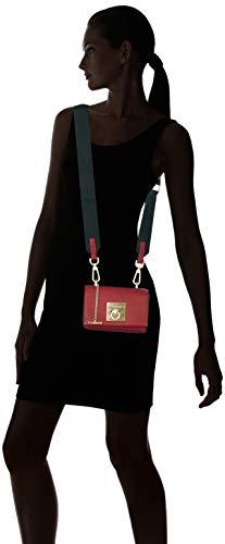 Crossbody Bandoulière Cm Ck Small Sacs Flap Rock Rouge X H red Klein T Femme Calvin 8x12x17 Jeans b Lock Aw8gAYq