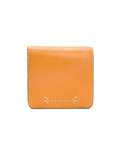 Carson Small Snap Wallet Pebbled Leather Wallet, Sunrise, One (Pebbled Leather Snap Wallet)