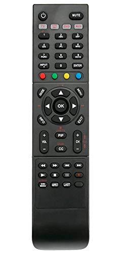ALLIMITY RC-201 Remote Control Replacement for Polaroid TV 1513-TDXB 1913-TDXB 2611-TLXB 3211-TLXB 4241-TLXB FLM-4034B FLM-4034BH FLM-4232HM FLM-4234BH TDA-02610C TDA-03211C TDX01930B ()