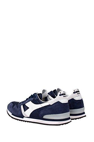 20116130501C2074 Diadora Heritage Sneakers Hombre Gamuza Azul Azul
