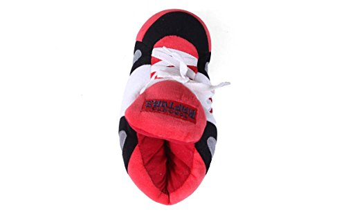 and Womens OFFICIALLY Feet LICENSED Sneaker Slippers Mens Raptors NBA Comfy and Toronto Happy Feet BYqdZxt