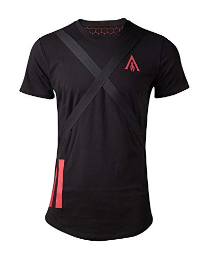 Price comparison product image Assassin's Creed Official Odyssey Tape Longline T-Shirt - S