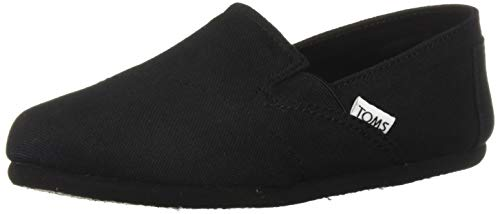 (TOMS Women's Redondo Loafer Flat black oxford 7.5 B Medium US)
