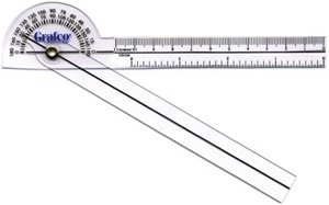 Grafco Pocket Goniometer 360° Protractor Head QTY: 1