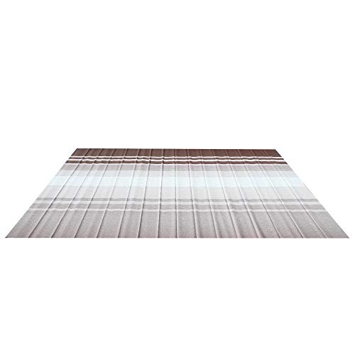 (ALEKO RVFAB16x8BRSTR34 RV Awning Fabric Replacement 16 x 8 Feet Brown Striped)