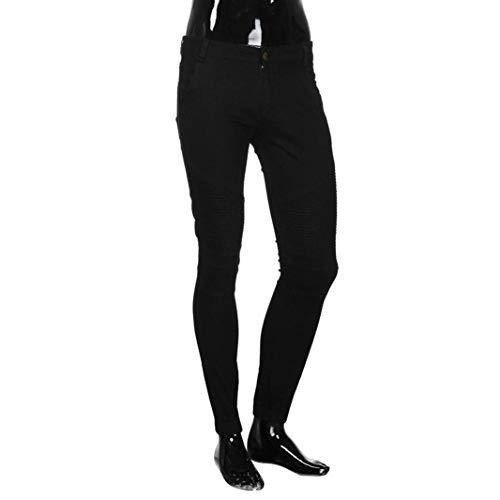 Ragazzi Uomo Classiche Denim Jogging Base Casual Da Slim Pantaloni Nero Elasticizzati Vintage Regolari Jeans x7pt6