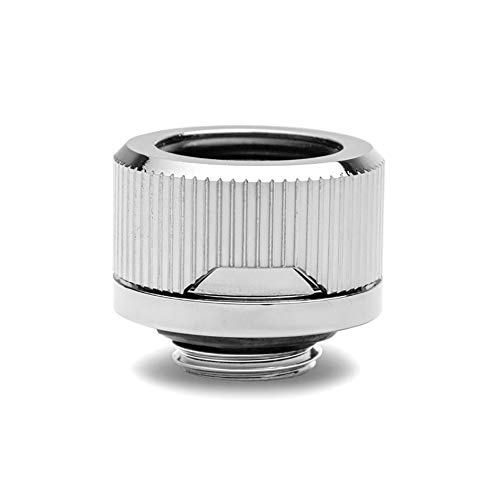 EKWB EK-Quantum Torque HDC-16 Compression Fitting for EKWB Rigid Tubing, 16mm OD, Nickel