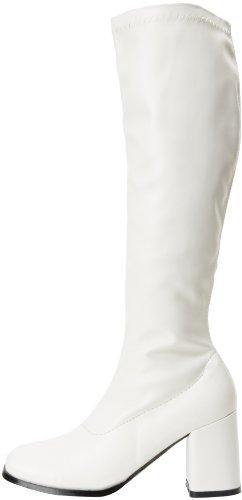 300 Funtasma A Alto Bianco Donna Collo Gogo Da blanc Scarpe gppqwf5H