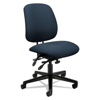 7700 Series Swivel - 7700 Series Asynchronous Swivel/Tilt Task Chair, Seat Glide, Blue, Sold as 1 Each
