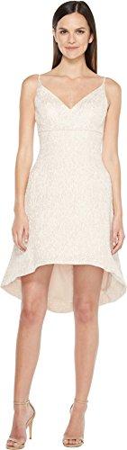 Aidan Mattox Women's Jacquard Fit and Flare Dress Petal Dress