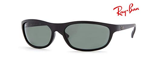Ray Ban Predator RB4114 Sunglasses - 601S71 Matte Black/Greygreen - 62mm for Men