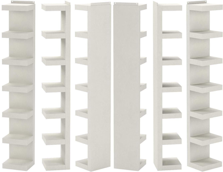 Ikea Lack - Librería, color blanco, 30 x 190 cm: Amazon.es: Hogar