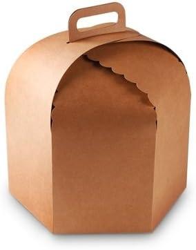 Selfpackaging Caja para Tartas y panettones. Pack de 25 Unidades ...