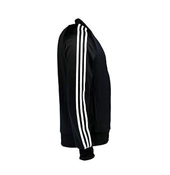 Adidas Hombre Budo Superstar Negro Chaqueta de Chándal Cremallera ...