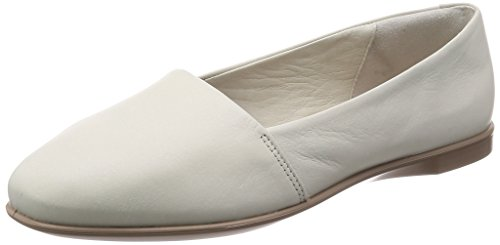 ECCO Women's Women's Incise Enchant Slip On Ballet Flat, Shadow White, 37 M EU (6-6.5 US)