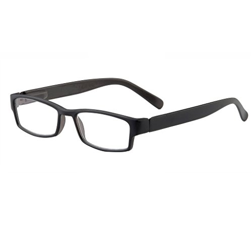 (I Heart Eyewear Black Jet Reading Glasses, 2.5)
