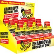 Hangover Food (Hangover Joe's The Hangover Recovery Shot, Berry Blast Flavor, 12-Pack of 2-Ounce Bottles)