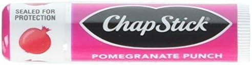 Chapstick Lip Balm Pomegranate Punch 4 Sticks 0.15 Ounce