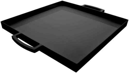 Zak Designs 12.5in x 12.5in Small MeeMe Serving Tray, Black MS ()