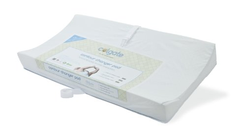 Pad Changing Colgate (Colgate Contour Changing Pad with Waterproof White Quilted Cover, 33