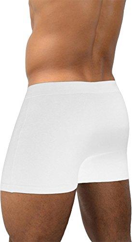 4 x Herren Unterwäsche Boxershorts original normani® Exclusive Farbe Basic Style/White Größe XL