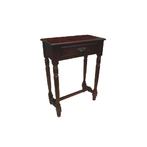 D-art Mahogany Parker Hall Table with 1 Storage Drawer