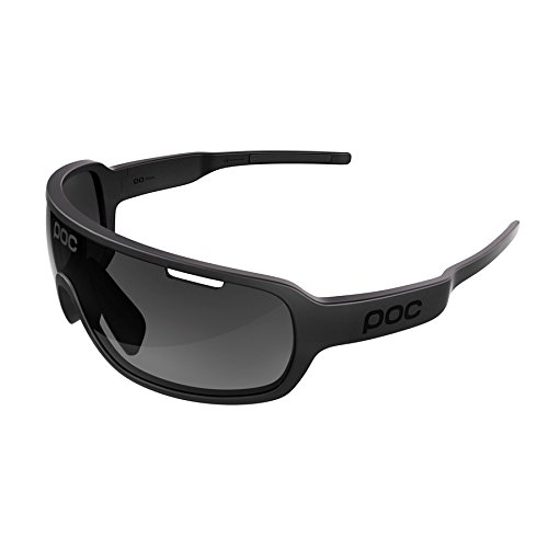 POC DO Blade Sunglasses, Uranium Black, One - Sunglasses Blades