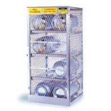 X 30'' X 32'' 8 Cylinder Horizontal Storage Locker For Flammables
