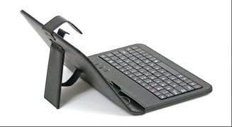 Funda con Teclado QWERTY en español (Incluye Letra Ñ) para Tablet LG Gpad V700 10.1