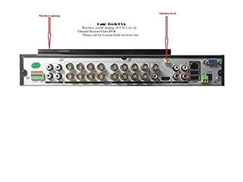 Camvtech Usa Wireless Bussines Class 1080P 16channel CCTV Surveillance Video Security, Supports Hdmi, 2sata up 16TB,Ptz,Cloud Service Dropbox, P2P,Mobile Phone,Motion Detect