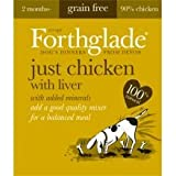 Forthglade PET-537691 Natural Menu Chicken with Liver - GRAIN FREE (395g) 18 Pack
