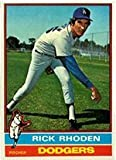 1976 Topps Regular (Baseball) Card# 439 Rick Rhoden of the Los Angeles Dodgers Ex Condition