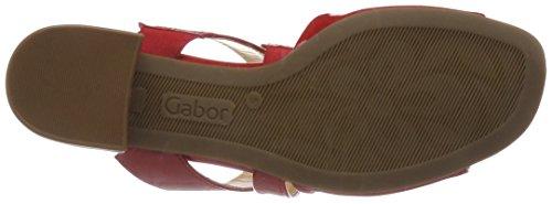 Gabor Ladies Muli Moda Rosso (rosso)