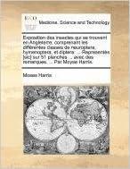 Exposition des insectes qui se trouvent en Angleterre: comprenant les différentes classes de neuroptera, hymenoptera, et diptera: ... Representès ... ... avec des remarques. ... Par Moyse Harris.