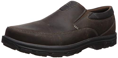Skechers Men's Segment The Search Slip On Loafer,Dark Brown,7 M US