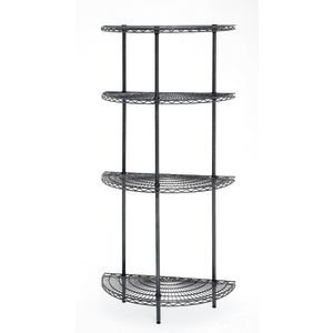 Half Round Wire Shelving Units, 36u0026quot; ...