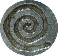 Spiral Wax Seal Stamp (Resin Handle) (Spiral Resin)