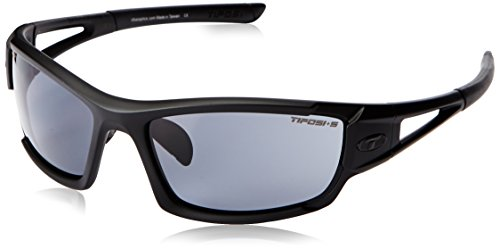 Tifosi Dolomite 2.0 Tactical Sunglasses,Matte Black,59 mm (Indian Oval Glass)