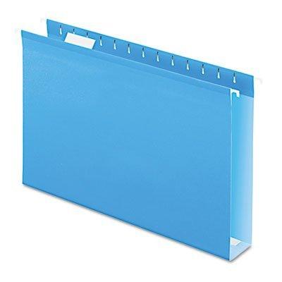 Hanging Folders, w/Box Bottoms, 25/BX, Blue by Pendaflex