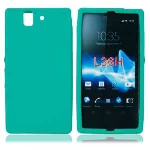 Silicone Case for Sony LT36H Green