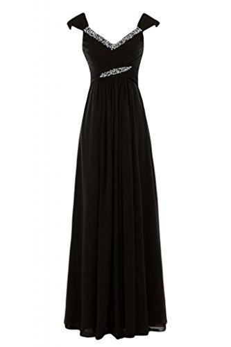 Gowns V Bridesmaid a Sunvary Cioccolato abito lungo Pageant Empire con scollo Charming X6ZYqv