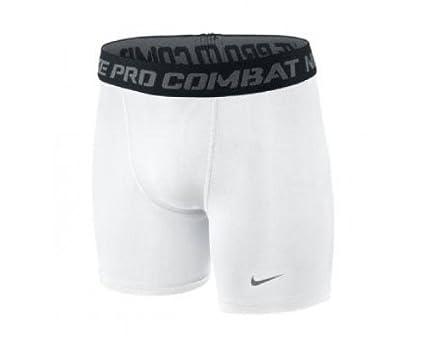 white nike compression shorts