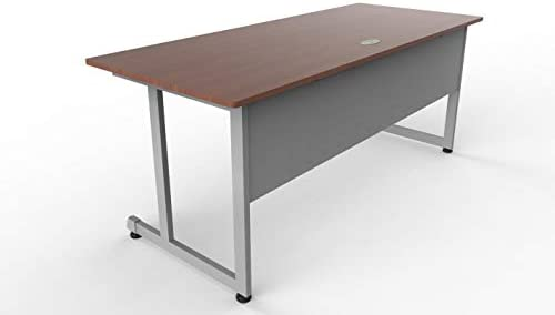 Linea Italia Executive Training Extra Large Easy to Assemble Metal Desk