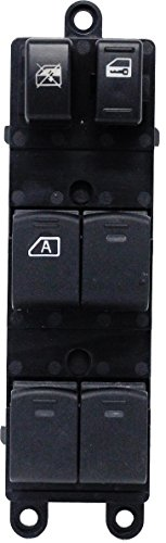 Switch Nissan Window - Front Left Driver Side Power Window Master Switch for 2005 2006 Nissan Xterra Frontier Compatible with 25401-EA003