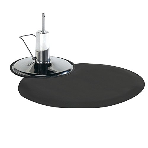 Barber Salon Styling Chair Mat Semi Circle 1/2