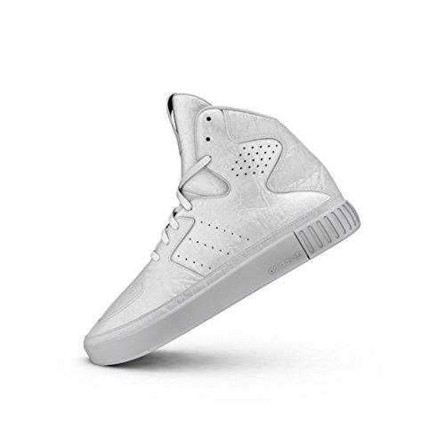 Femme 0 Tubular 2 Blanc Adidas Invader Originals Baskets wXZxWq06