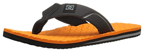 DC Herren Kush Sandalen, EUR: 39, Black/Black/Orange