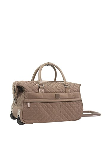 Calvin Klein Hawthorne Wheeled City Bag, Truffle, One Size