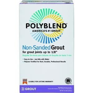 Custom Building Prod. PBG5210 Polyblend Nonsanded Tile Grout